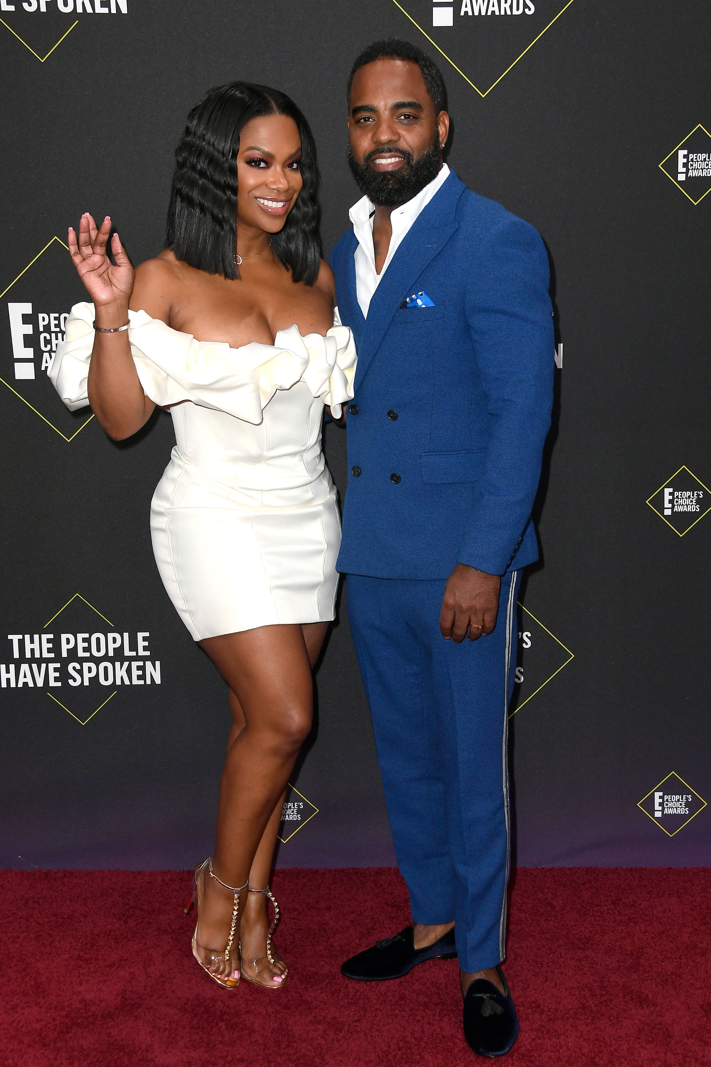 Kandi Burruss and Todd Burruss at the 2019 E! People's Choice Awards at Barker Hangar on November 10, 2019. | Photo: Getty Images
