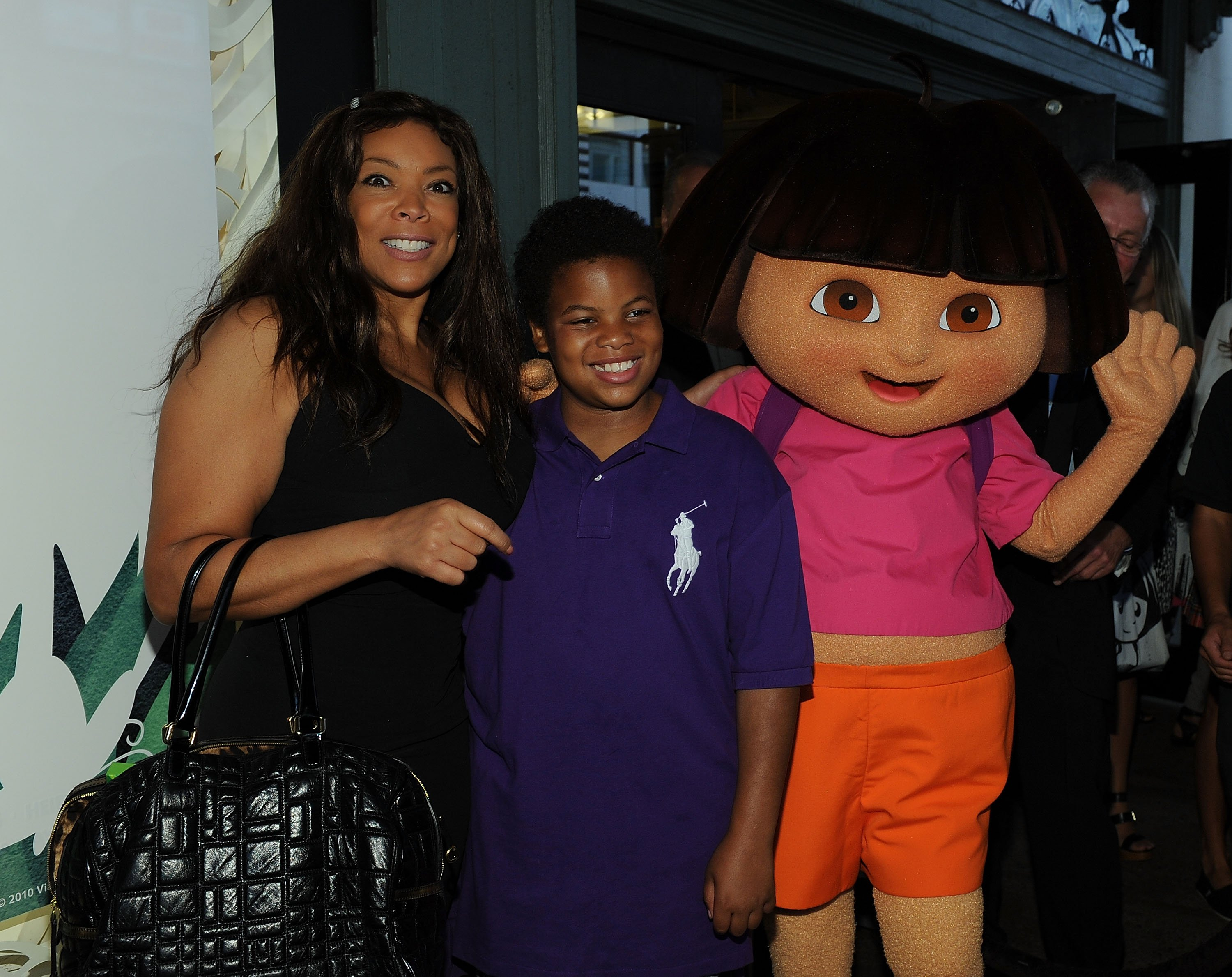 Wendy Williams and son Kevin attend Nickelodeon's Beyond the Backpack Kicks off Auction. | Photo: GettyImages