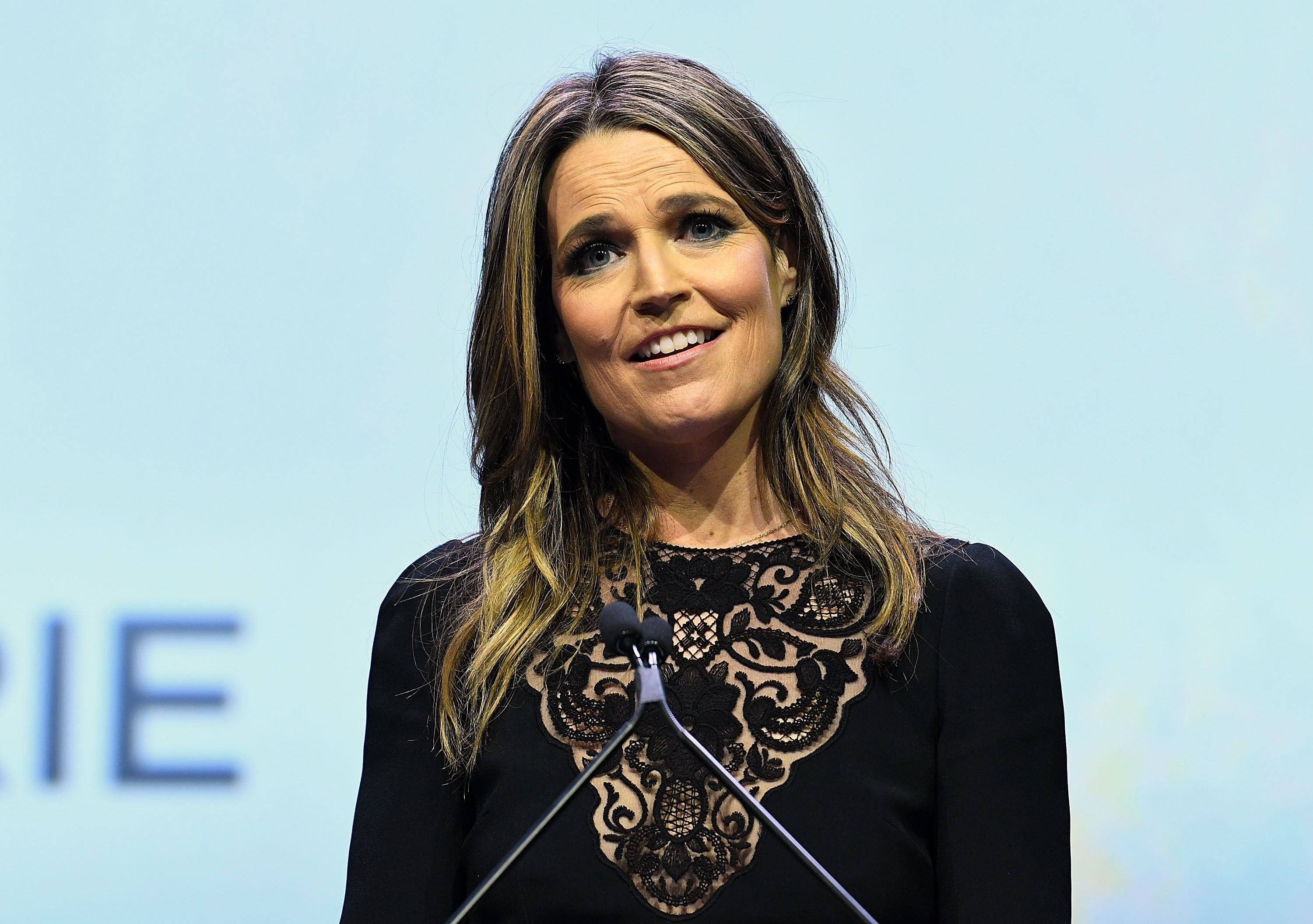 Savannah Guthrie at 2017 Matrix Awards at Sheraton New York Times Square on April 24, 2017   Photo: Getty Images