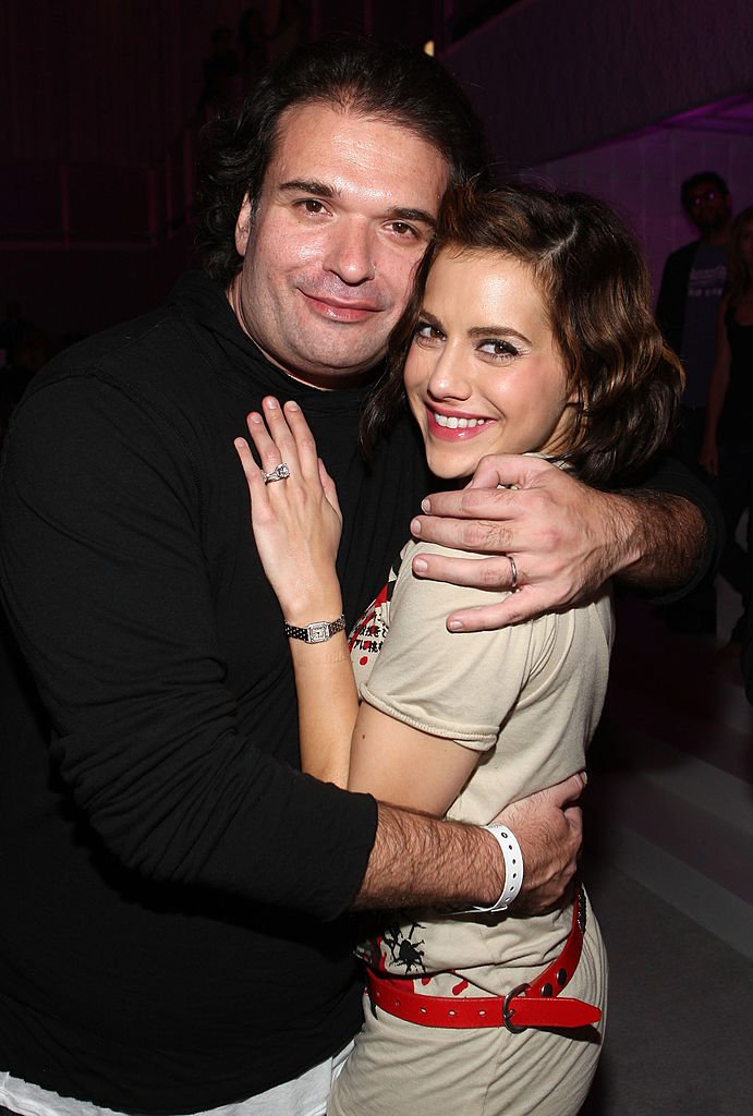 Simon Monjack and Brittany Murphy attend MOTO 9 Anniversary party on November 8, 2007 in West Hollywood   Photo: Getty Images