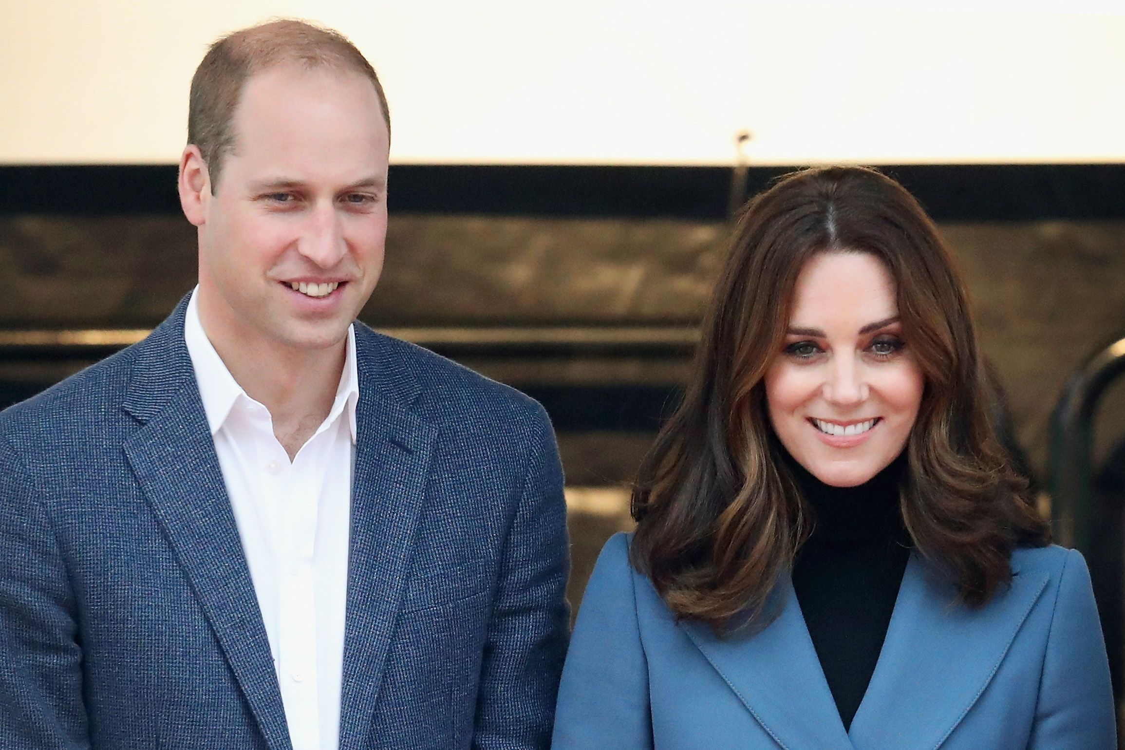 Prince William and Kate Middleton at the Coach Core graduation ceremony for more than 150 Coach Core apprentices at The London Stadium on October 18, 2017 | Photo: Getty Images