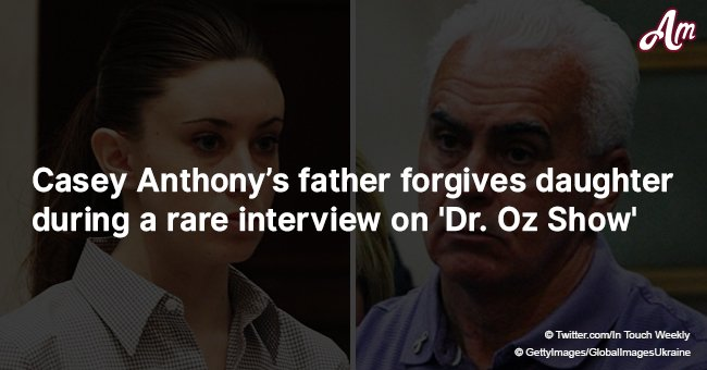 Casey Anthony's father forgives daughter during a rare interview on 'Dr. Oz Show'