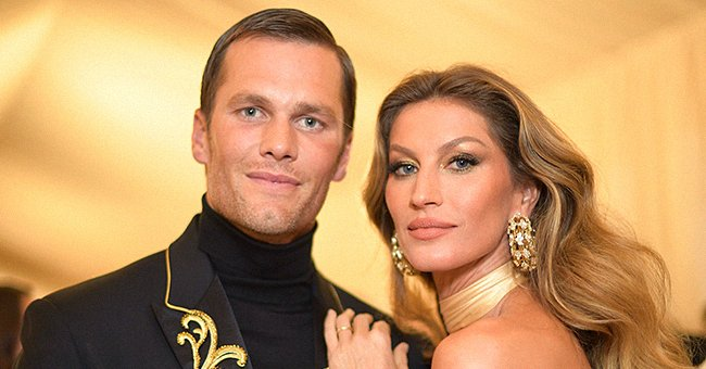 Gisele Bündchen and Tom Brady at the 2018 Met Gala on May 7, 2018 in New York City.  |  Photo: Getty Images