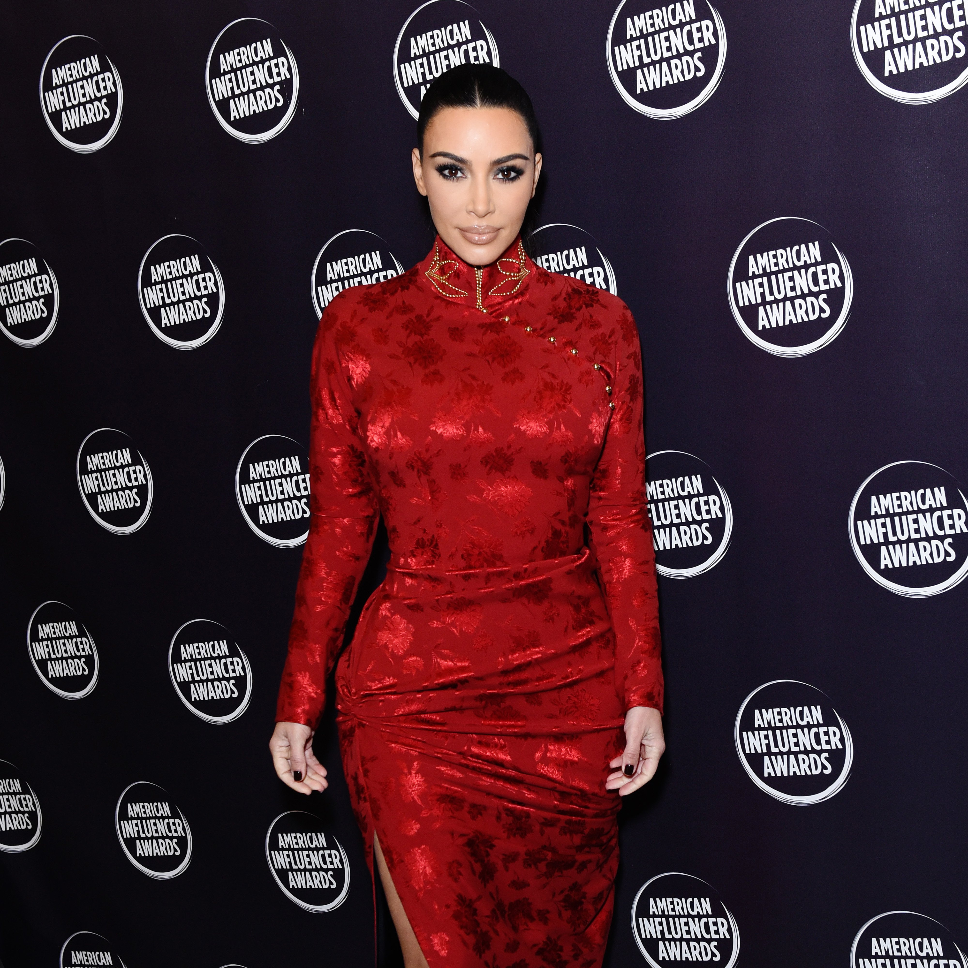 Kim Kardashian at the 2nd Annual American Influencer Awards | Source: Getty Images