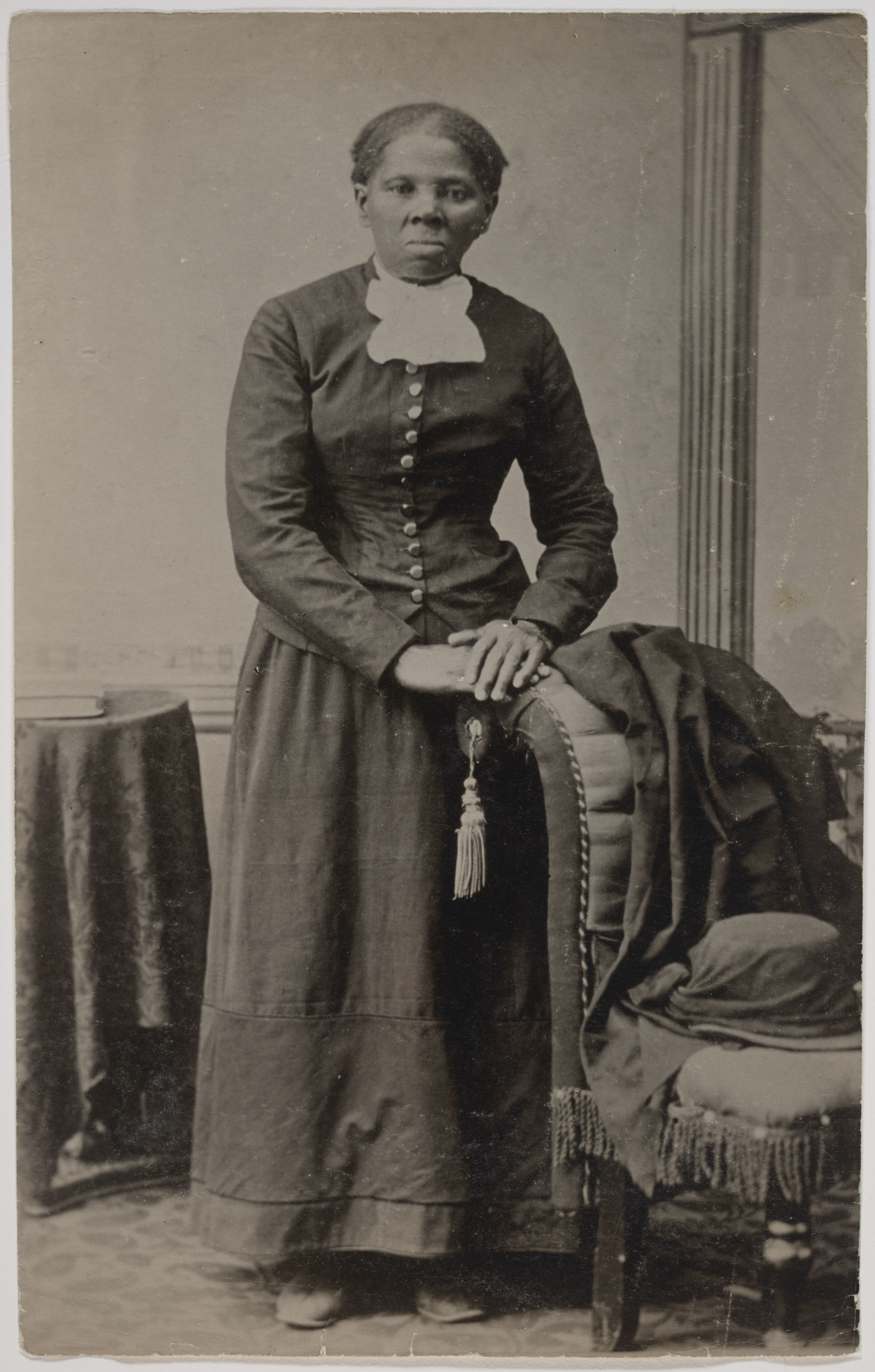 A portrait of Harriet Tubman taken between 1871 and 1876. | Source: Wikimedia Commons.