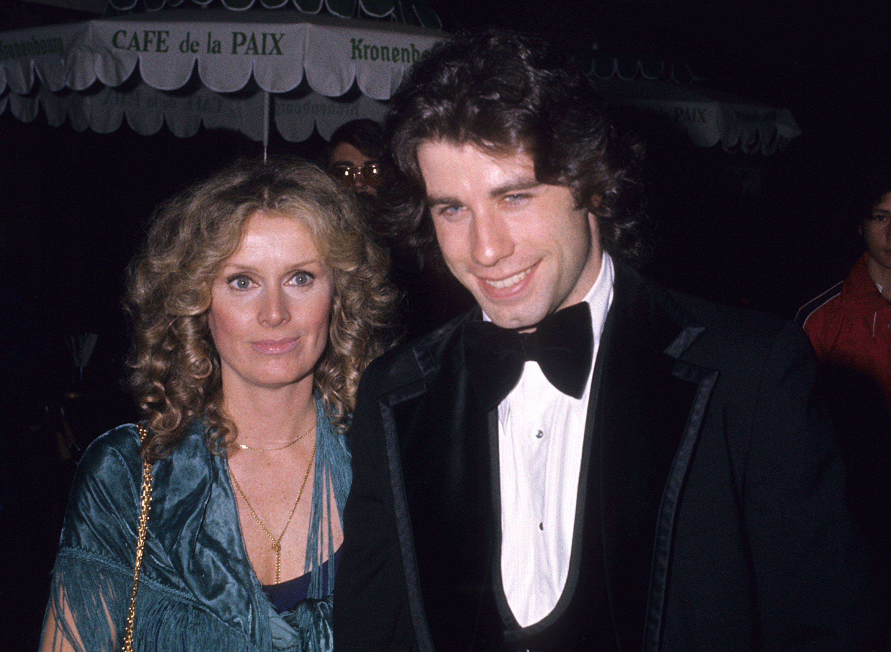 John Travolta and Diana Hyland sighting in LA on December 8th 1976   Source: Getty Images