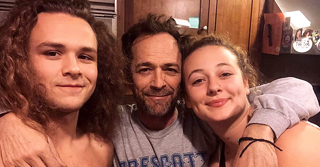 Luke Perry's Daughter Shared a Touching Family Photo on Father's Day