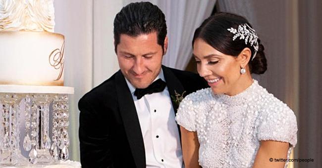 Jenna Johnson and Val Chmerkovskiy's Tremendous Wedding Cake Revealed (Photo)