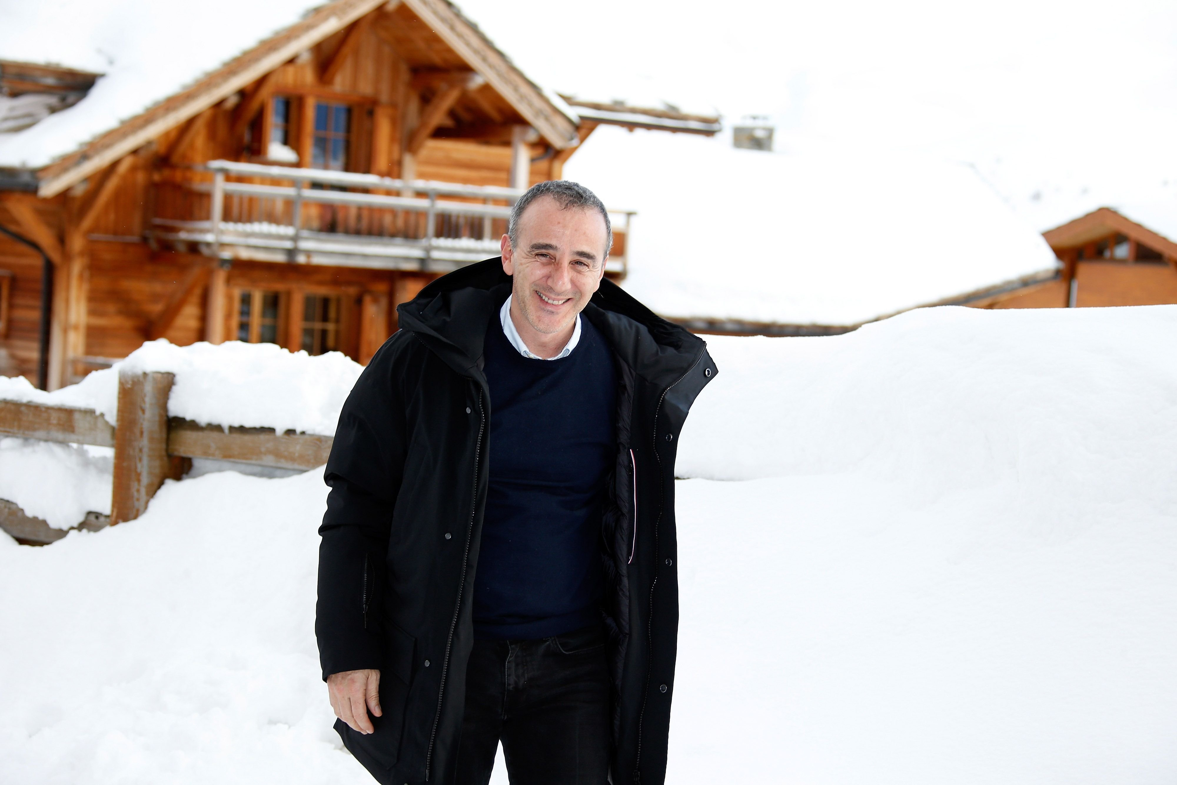 Elie Semoun participe au 21ème Festival du Film Comique de l'Alpe d'Huez à l'Alpe d'Huez, France. | Photo : Getty Images