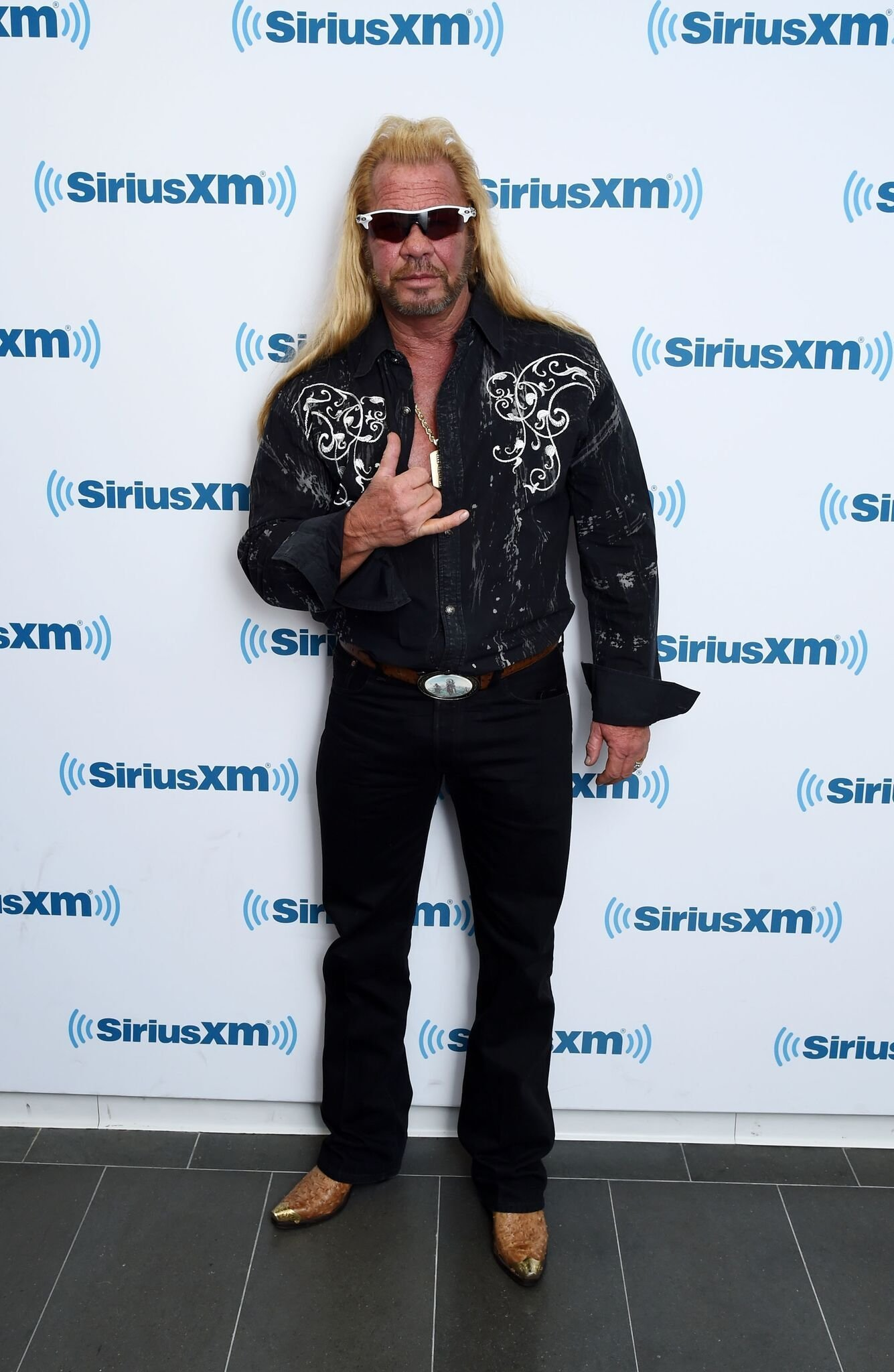 Dog the Bounty Hunter, Duane Chapman visits the SiriusXM Studios | Getty Images