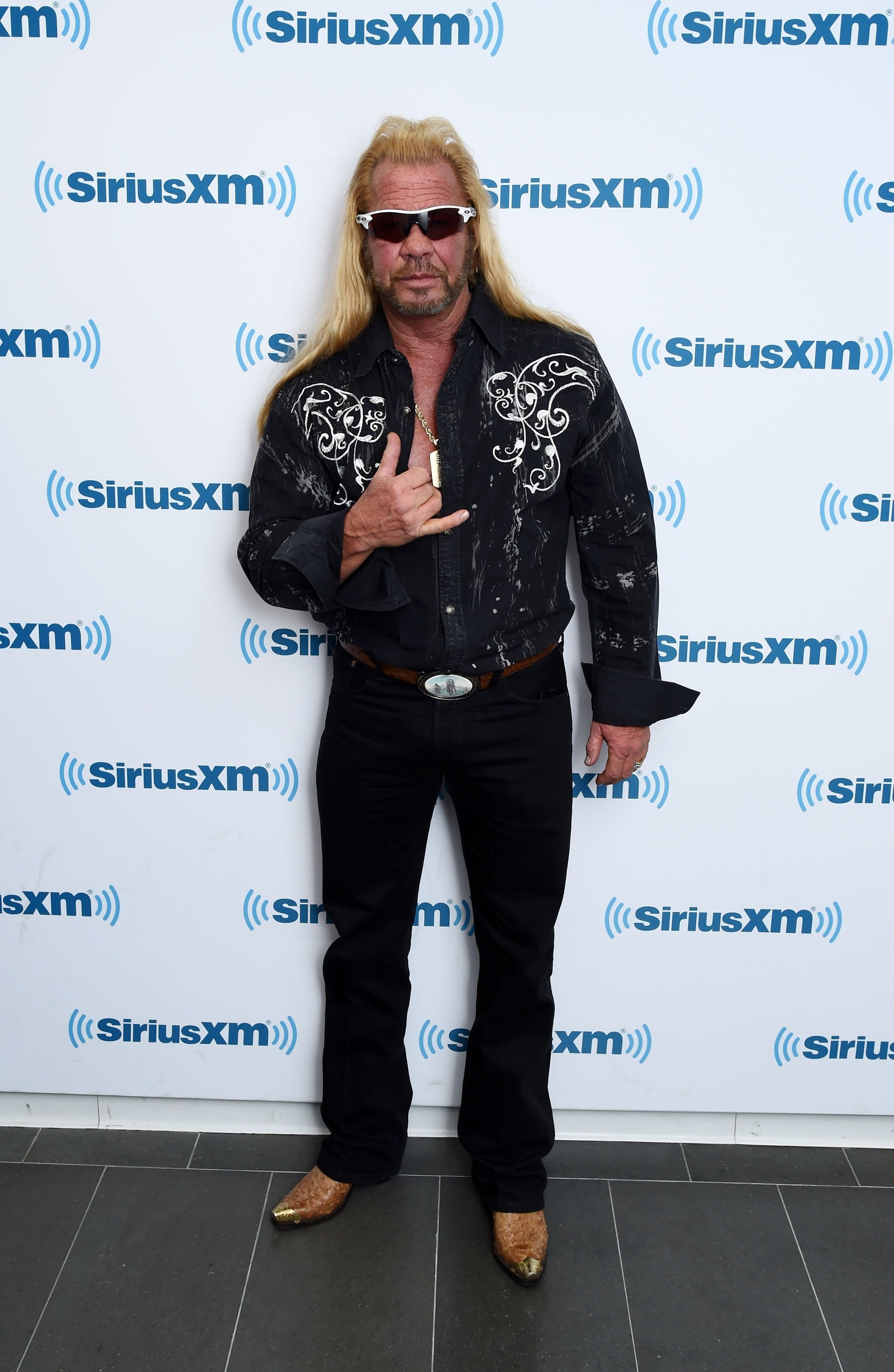 Duane Chapman visits the SiriusXM Studios in New York City on April 24, 2015 | Photo: Getty Images
