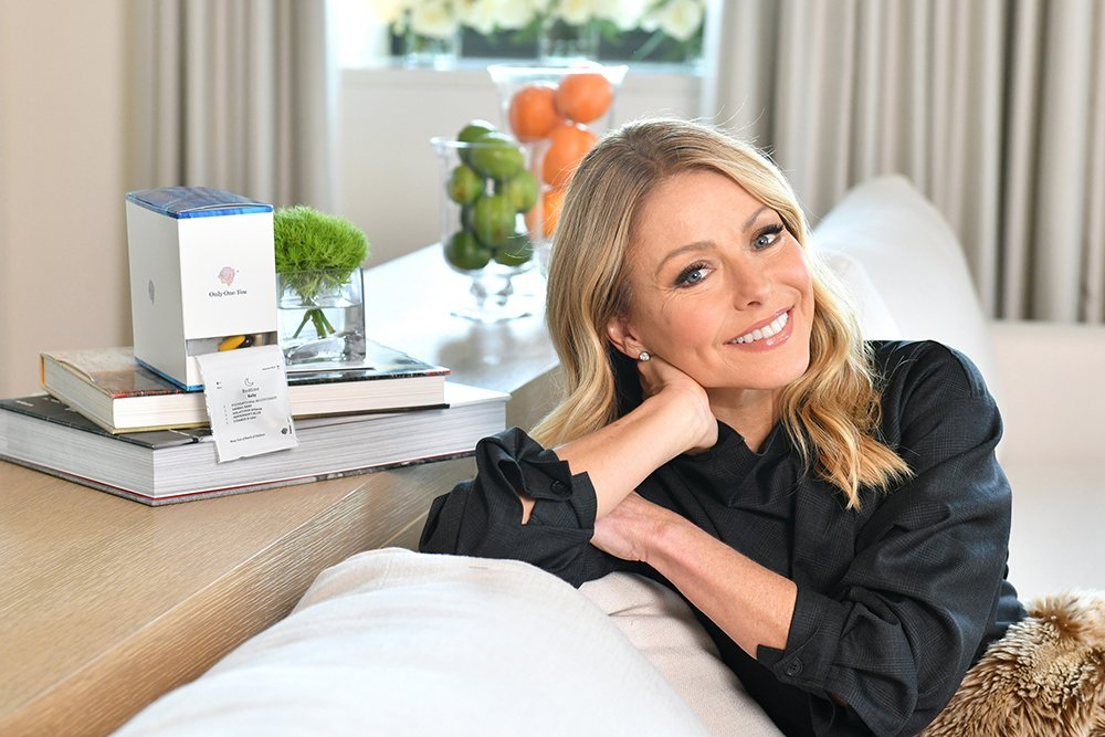 Kelly Ripa announcing new role as Persona™ Nutrition's Celebrity Brand Ambassador in New York City, in February 2020. I Image: Getty Images.