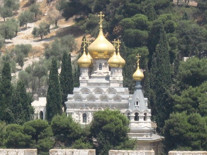 Church of Mary Magdalene, Alice's burial place in Jerusalem I Image: Wikimedia Commons