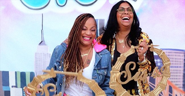 LL Cool J's Wife & Cookie Johnson Laugh While Posing in Chic Outfits in a Sweet B-Day Tribute