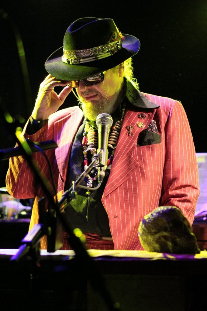 Dr. John performing at Le Poisson Rouge, New York City, 2011. | Photo: Wikimedia Commons Images