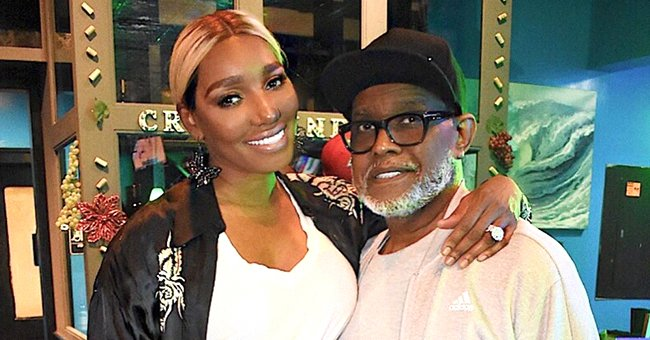 NeNe and her late husband Gregg pose for a picture together | Source: Instagram.com/neneleakes