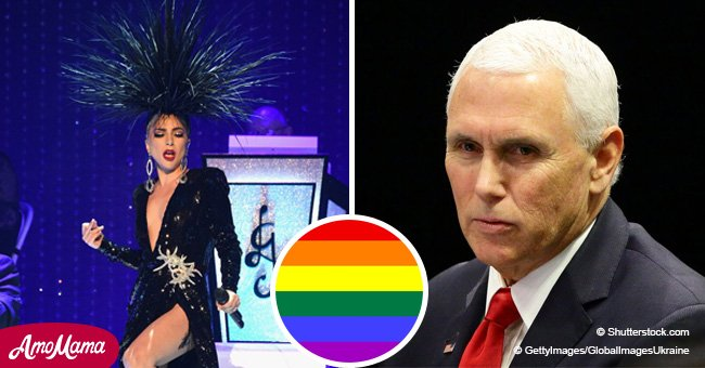 Lady Gaga attacks Pence, says he's 'the worst representation of what it means to be a Christian'