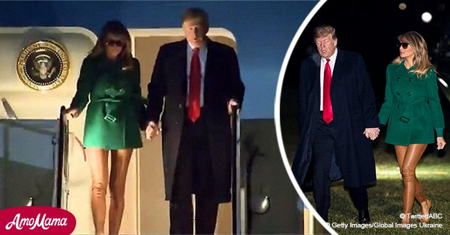 Melania Trump confused media with 'nude' pair of leggings that made her legs look bare