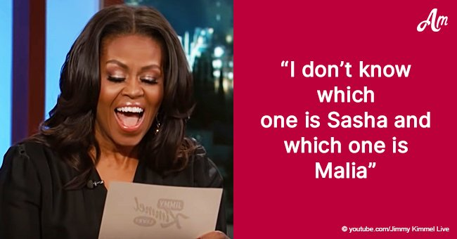 Michelle Obama laughs as she reads hilarious jokes she could never say as First Lady