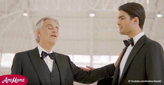 Andrea Bocelli's son revealed his talent just 2 years ago - now their duet makes us tear up