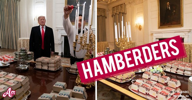 Internet goes wild after President Donald Trump tweeted about '1000 hamberders'
