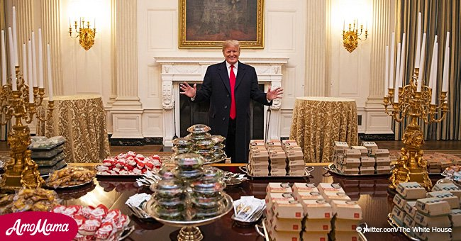 Trump personally pays for the fast food meals provided for the Clemson University football team