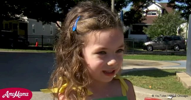 4-year-old girl named Florence helps people affected by a hurricane with the same name