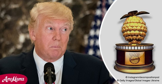 Trump nominated for 2 Razzie Awards, including the nod for 'self-perpetuating pettiness'