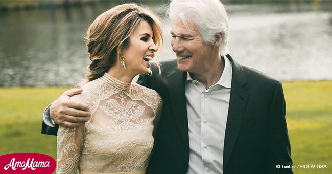 Richard Gere, 69, and his younger wife Alejandra Silva are expecting their first child