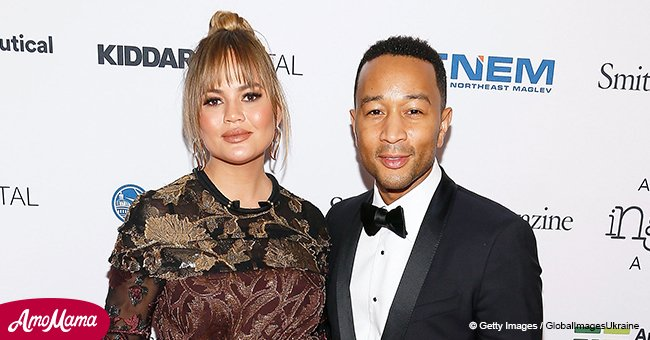 John Legend's wife Chrissy gives birth