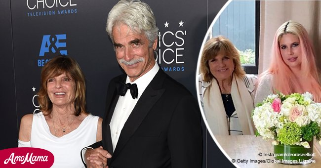 Sam Elliott's wife turns 79, and their grownup daughter Cleo shares a sweet photo in her honor