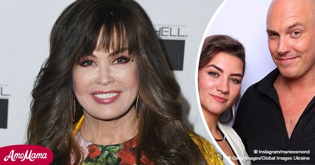Marie Osmond's 21-year-old daughter gets married and shares a gorgeous wedding photo
