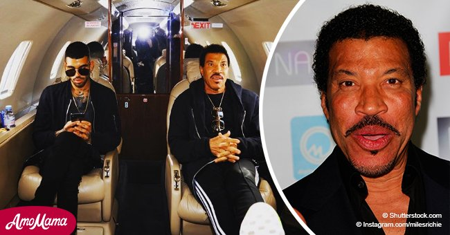 Lionel Richie's son reportedly arrested after threatening to detonate a bomb at an airport