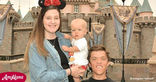 Tori Roloff hits back at haters with sweet new photo of baby Jackson sitting in a tractor