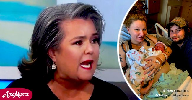 Rosie O'Donnell admits she missed her granddaughter's birth by 'an hour' in a frank interview
