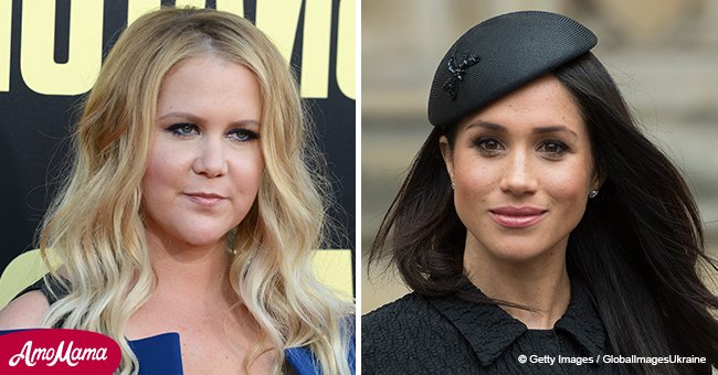 Amy Schumer gets candid about Meghan Markle's wedding