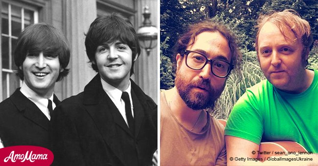 Paul McCartney and John Lennon's sons just made this epic selfie that went viral