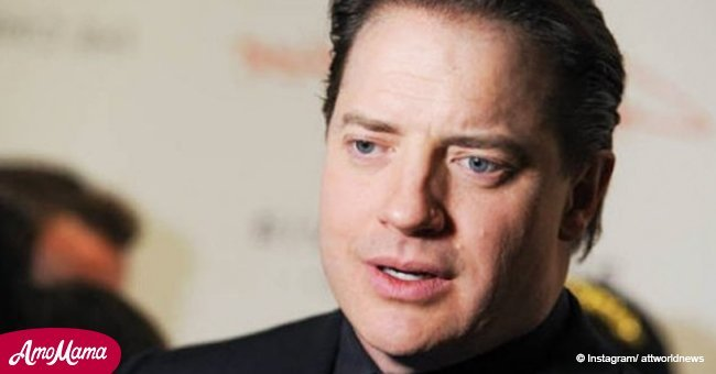 Brendan Fraser was shamed for his shape after beach vacation photos were published