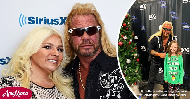 'Dog the Bounty Hunter' greets hundreds of fans at a Christmas meetup amid Beth's cancer battle