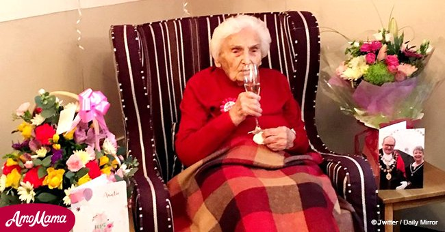105-year-old woman claims avoiding men is the secret to her longevity