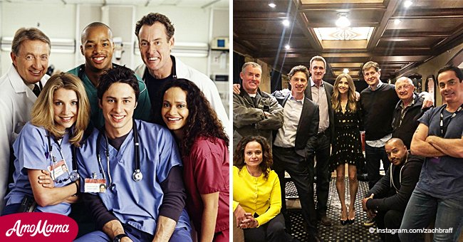 'Scrubs' actors reunite for the first time in 8 years as Zach Braff teases 'Season 10'