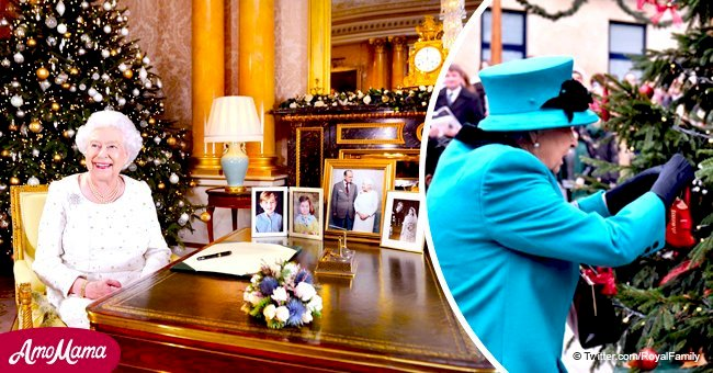 Queen names family and faith among 3 constant things in her encouraging Christmas speech