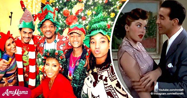 Willow Smith stops dad from singing 'Baby, It's Cold Outside' on Christmas eve