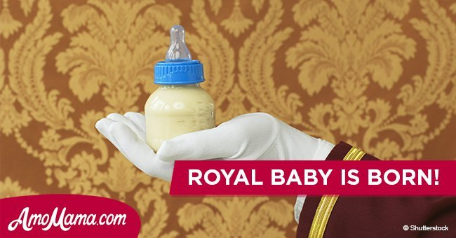 Another royal family has just welcomed a new baby. Here's first ever photo