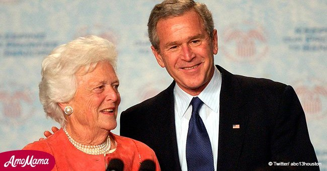 George W. Bush pays heartbreaking tribute to mom Barbara who died at 92