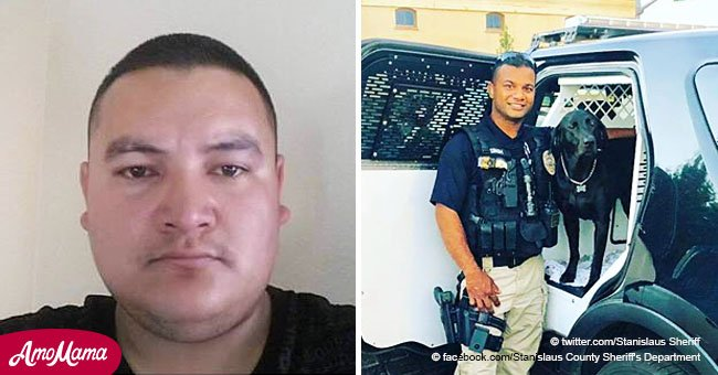 Police search for suspect reportedly in the US illegally after officer was killed in California