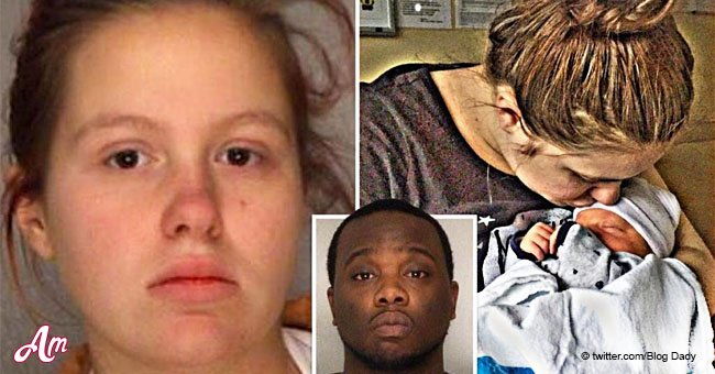 Mom who 'looked away' as boyfriend punched her toddler son is charged with murder
