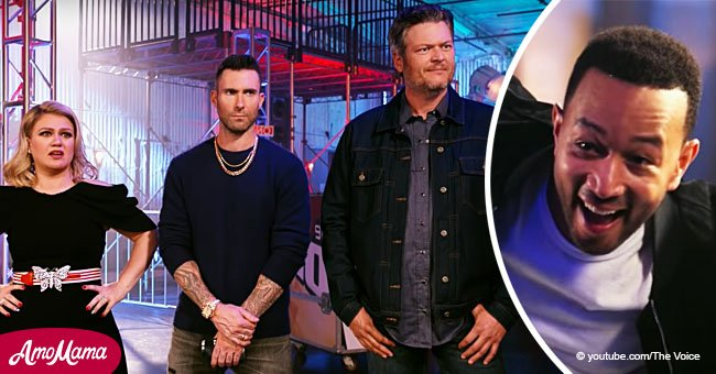 Blake, Adam, and Kelly are 'worried' after new 'The Voice' judge steals the show from them