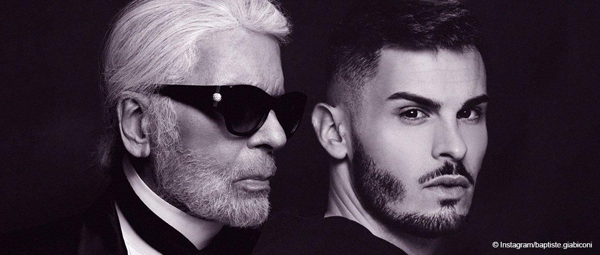 Baptiste Giabiconi pleure la mort de son 'ange Gardien' Karl Lagerfeld dans un message émouvant