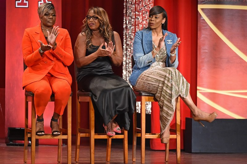 Tina Thompson, Cynthia Cooper and Sheryl Swoopes on September 6, 2019 at Symphony Hall in Springfield, Massachusetts | Photo: Getty Images